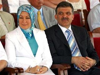 Абдулла Гюль и его супруга Хайрунниса