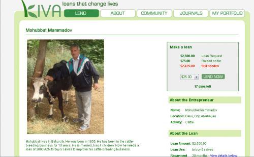 Kiva -займы, способные изменить жизнь