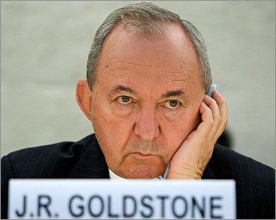 Голдстоун: Большинство стран против обсуждения моего доклада