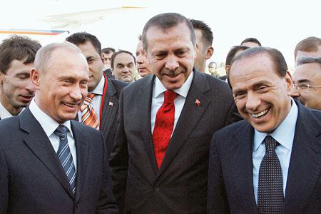 "Путин, Эрдоган и Берлускони обсудили победу ""Рубина"""
