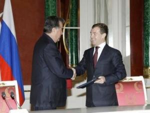 В Москве прошли переговоры президентов России и Таджикистана
