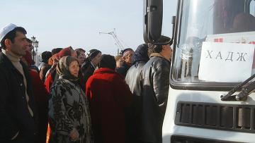Российские мусульмане учатся нормам поведения во время хаджа