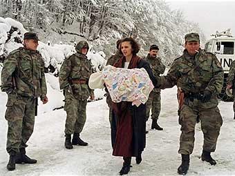 Сребреница. Кадр НТВ, архив