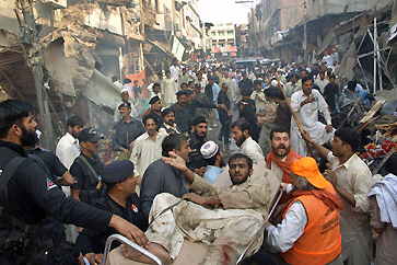 Визит Клинтон в Пакистан омрачился взрывом