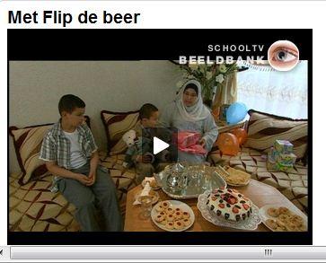 Кадр из детской передачи про Ид аль-Фитр - Сахарный фестиваль