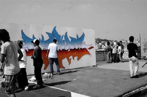 Граффити помогают студентам связать ислам и искусство