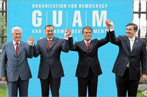 ГУАМ создает военную структуру
