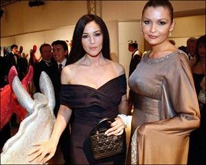 Дочь президента Узбекистана потратила за ужин с Моникой Белуччи 200 тыс.долларов