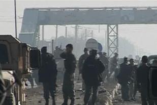 Взрыв на базе НАТО в Афганистане