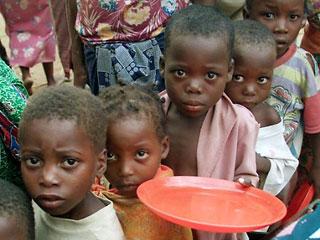 Призыв накормить голодающих проигнорирован