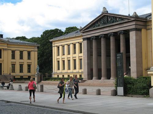 Спортзал норвежского университета может превратиться в мечеть