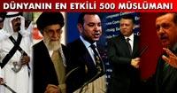 Эрдоган – пятый в списке самых влиятельных мусульман мира
