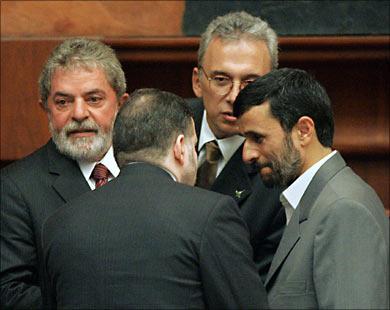 Состоялся первый визит президента Ирана в Бразилию