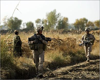 Потери американцев в Афганистане продолжают неуклонно расти