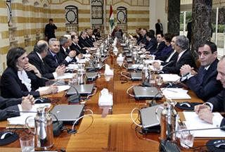 На заседании правительства Ливана