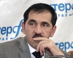 """Ю-Б.Евкуров сменил """"слишком честного"""" главу администрации"""