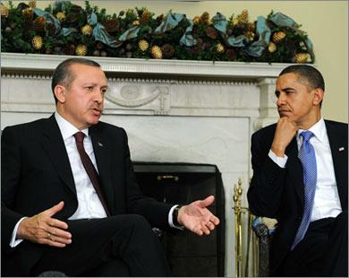 Обаме не удалось уговорить Эрдогана поддержать санкции против Ирана