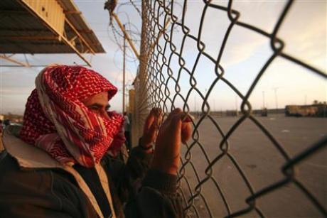 На границе с Египтом