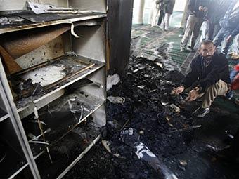 Израильтяне подожгли мечеть