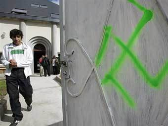 На юге Франции неизвестные осквернили мечеть