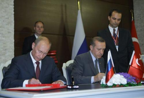 Перед Путиным и Эрдоганом помахали экстремистским списком