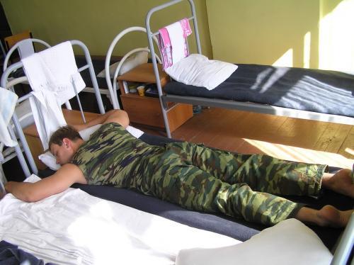 В российской армии будут спать после обеда