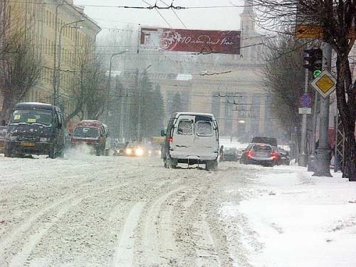 Морозы сменит снегопад