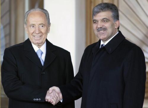 Президент Турции встретился с президентом Израиля