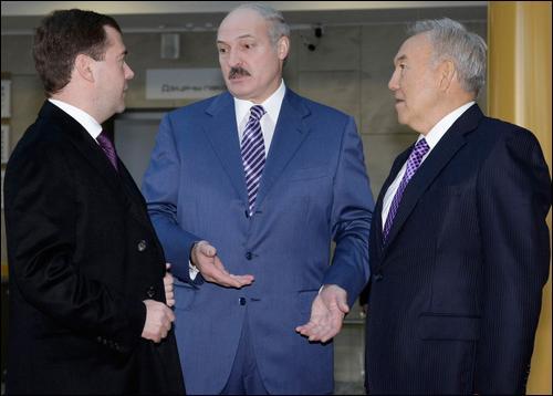 РФ, Белоруссия и Казахстан создадут единое экономическое пространство