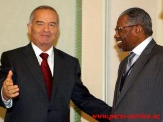 Президент И. Каримов принимает делегацию ИБР во главе с президентом Ахмадом Мухаммадом Али