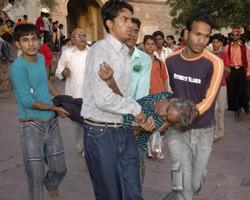 Около 60 мусульман ранены при разгоне демонстрации в Кашмире