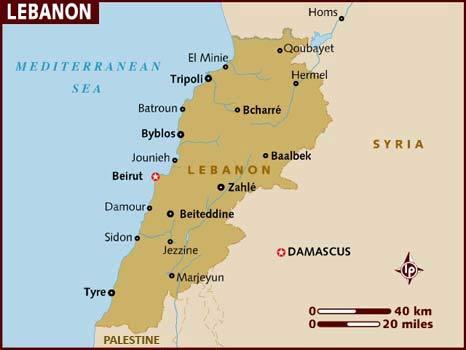 В Бейруте взорвалась машина движения ХАМАС