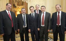 Саркози встретился с мусульманскими лидерами Франции