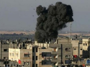 Израильтяне нанесли авиаудар по Газе