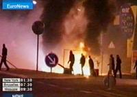 Французы справили новый год, 400 машин подожжено