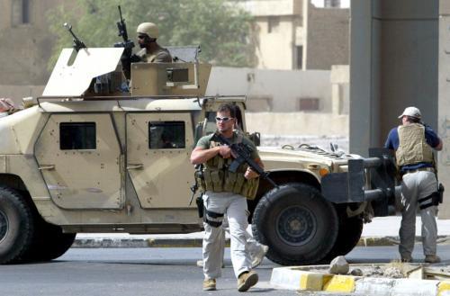 Ирак подал в американский суд на Blackwater