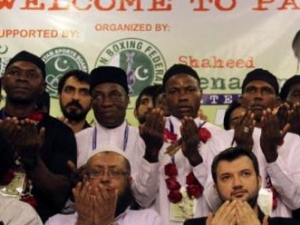 Девять африканских боксеров приняли ислам на соревнованиях в Пакистане