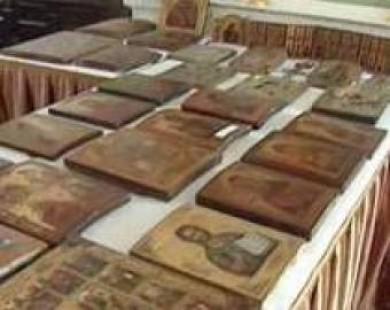 Церкви вернули  12 украденных в новогоднюю ночь икон
