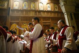 Нападение  на прихожан коптской церкви в Египте
