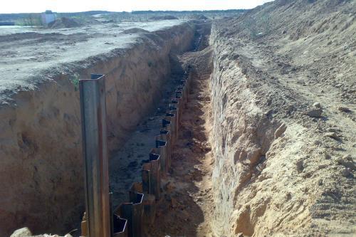 Египетские власти отгораживаются Стеной позора от блокадной Газы