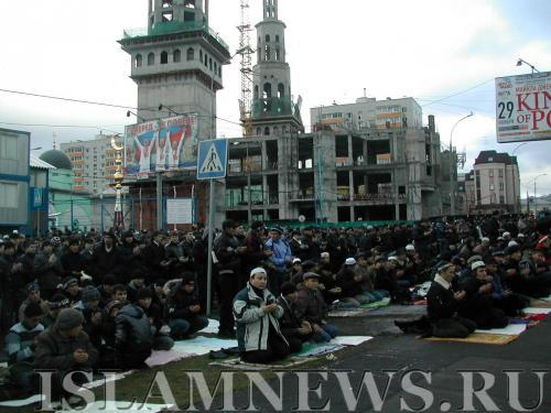 Москва — город с самым многочисленным мусульманским населением в Европе