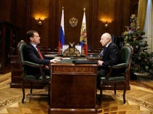 Дмитрий Медведев и Муху Алиев
