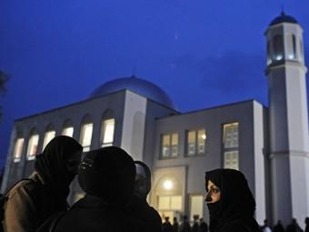 Берлинская мечеть в районе Панков-Хайнерсдорф