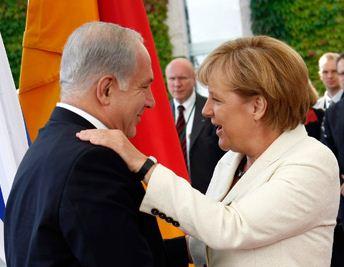"""С Израилем у Меркель не просто партнерские отношения, но """"эмоциональная связь"""""""