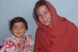 Джоанна Фрэнсис в 2002 году в Афганистане