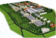 На территории промышленной зоны разместятся склады, цеха по отбору, обработке и упаковке мяса, а также научно-исследовательский центр.