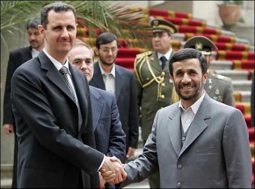 Президенты Ирана и Сирии