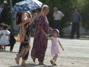 Женщины в Узбекистане
