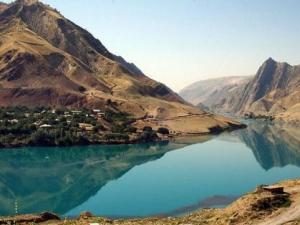 Район Конимансур в Зеравшанских горах