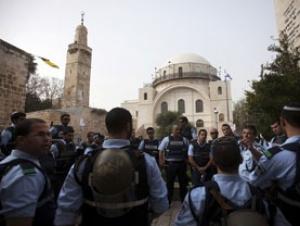 Израильтяне заблокировали Западный берег, чтобы открыть синагогу